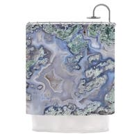 KESS InHouse KESS Original 'Pastel Geode' Shower Curtain (69x70)
