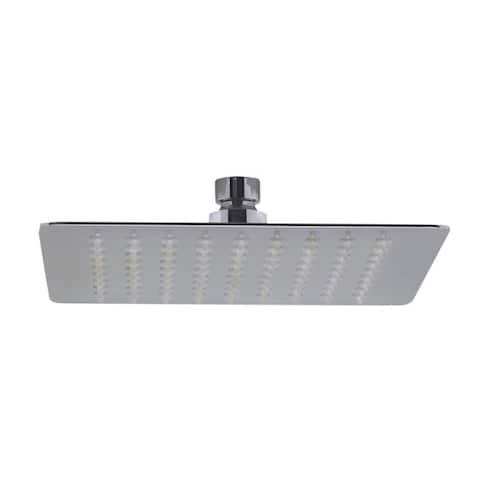 ALFI brand RAIN8S-PSS Polished Stainless Steel 8-inch Square Ultra-thin Rain Shower Head