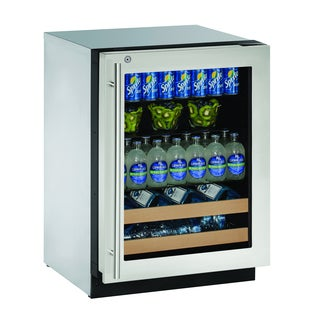 2000 Series 2224BEV 24-inch Stainless Steel Beverage Center with Lock