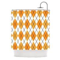 KESS InHouse KESS Original 'Argyle - Day' Shower Curtain (69x70)