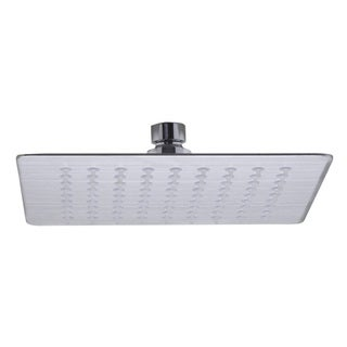 ALFI Brand RAIN8S-BSS Brushed 8-inch Square Ultra-thin Rain Shower Head