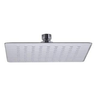 ALFI Brand RAIN8S-BSS Brushed 8-inch Square Ultra-thin Rain Shower Head