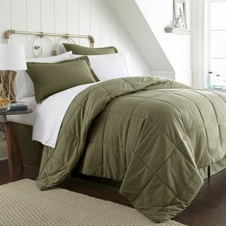 Merit Linens 8-piece Bed-in-a-Bag (Twin - Sage)