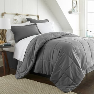 Merit Linens 8-piece Bed-in-a-Bag (Queen - Grey)