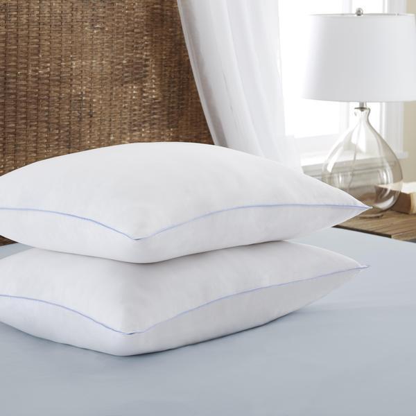 Merit Linens Premium Ultra Soft Down Alternative Pillow - White