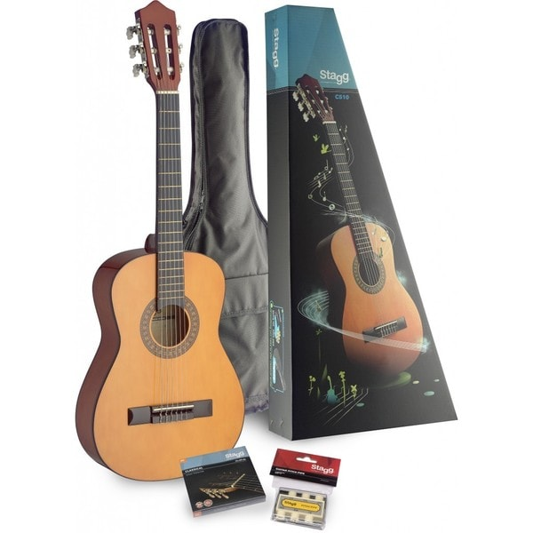 shop stagg c510 pack half size classical guitar pack with. Black Bedroom Furniture Sets. Home Design Ideas