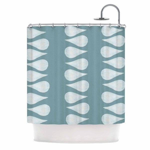 KESS InHouse Jennifer Rizzo X27Altered Raindropsx27 Shower Curtain