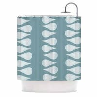 KESS InHouse Jennifer Rizzo 'Altered Raindrops' Shower Curtain (69x70)