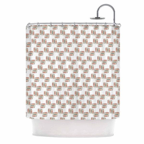 KESS InHouse Juliana Motzko 'Geo 2' Shower Curtain (69x70)
