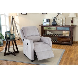 LYKE Home Acadia Velvet Power Recliner