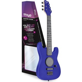 Stagg GAMP200-BL Blue Junior Electric Guitar With Built-in Amplifier