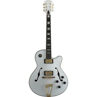 Stagg A300-WH Jazz-style Hollow Body White Electric Guitar