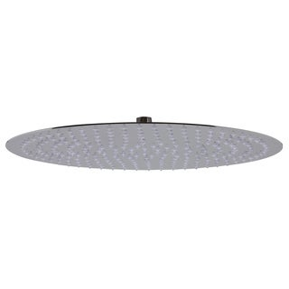 ALFI brand RAIN16R-PSS Solid Polished Stainless Steel 16-inch Round Thin Rain Shower Head