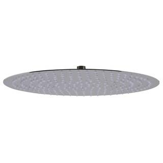 ALFI brand RAIN16R-PSS Solid Polished Stainless Steel 16-inch Round Thin Rain Shower Head