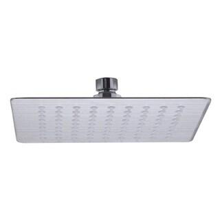 ALFI brand Silver Stainless Steel 16-inch Square Ultra Thin Rain Shower Head