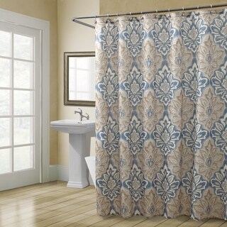 Croscill Captain's Quarters Shower Curtain Beige