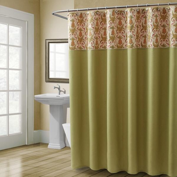 Croscill  Pina Colada Shower Curtain Multi