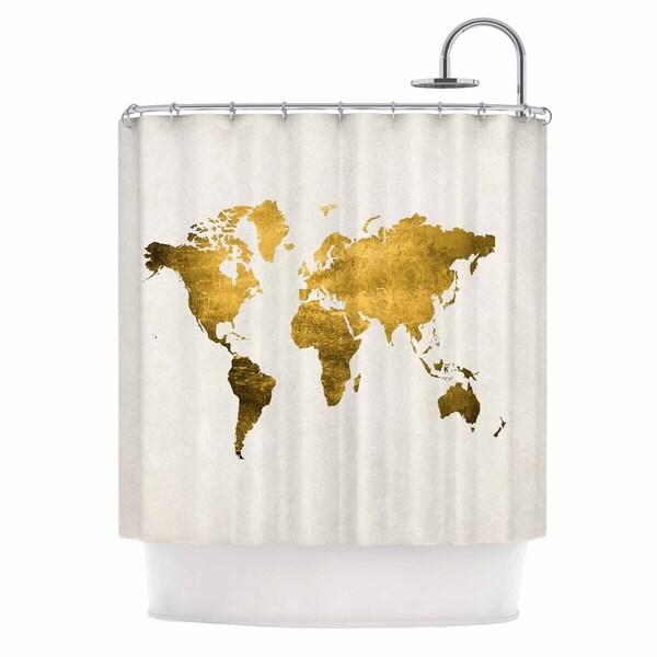 Shop KESS InHouse Chelsea Victoria Let Love Light The Way Shower Curtain 69x70
