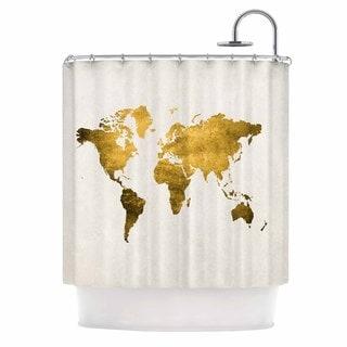 Gold Shower Curtains Overstock Com Vibrant Fabric Bath
