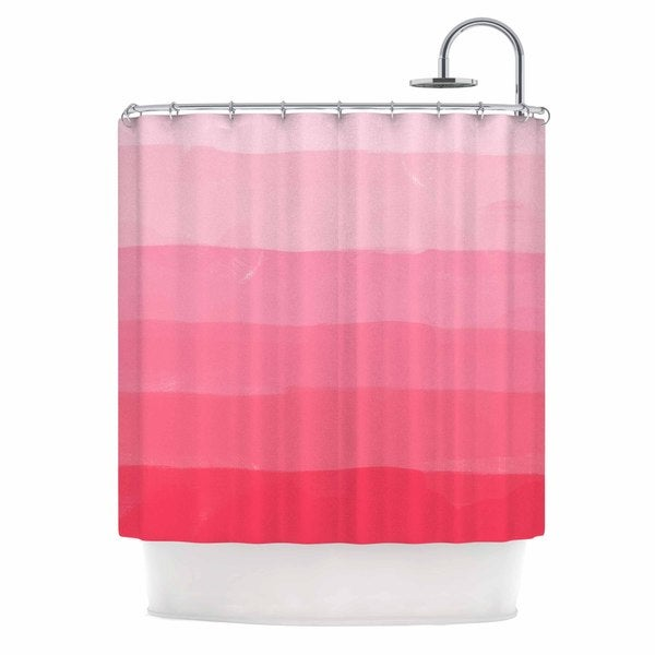 KESS InHouse Chelsea Victoria X27Pink Ombre Layer Cakex27 Shower