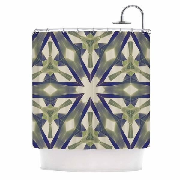 "Kess InHouse Angelo Cerantola ""Lymph"" Geometric ModernShower Curtain, 69"" x 70"""