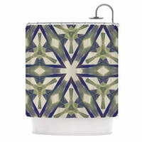 "Kess InHouse Angelo Cerantola ""Lymph"" Geometric ModernShower Curtain, 69"" x 70"""