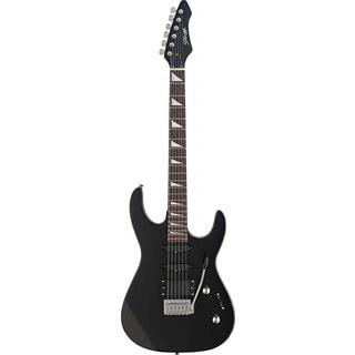 Stagg Black Heavy ISC Electric Guitar