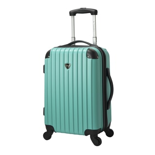 Travelers Club Madison ABS 20-inch Expandable Hardside Carry-on Spinner Suitcase
