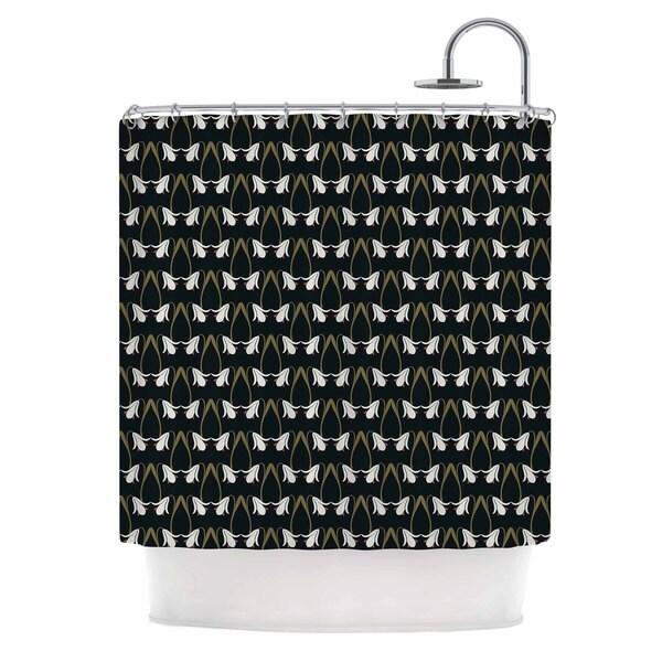 KESS InHouse Mayacoa Studio 'Lilies' Shower Curtain (69x70)