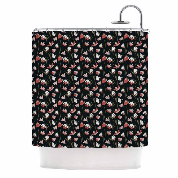 KESS InHouse Mayacoa Studio 'Lilies Field' Shower Curtain (69x70)