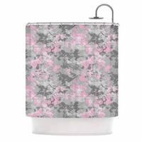 KESS InHouse Carolyn Greifeld 'Blissed' Shower Curtain (69x70)