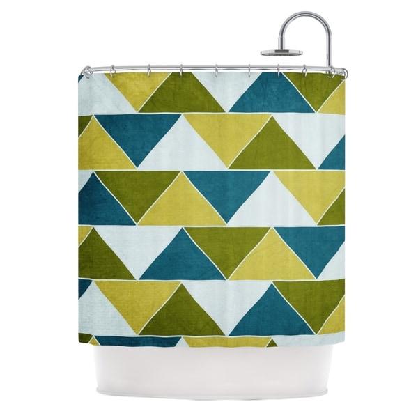 KESS InHouse Catherine McDonald 'Mediterranean' Shower Curtain (69x70)