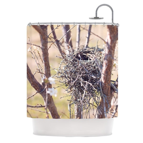 KESS InHouse Catherine McDonald 'Nest' Shower Curtain (69x70)