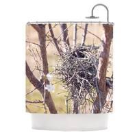 KESS InHouse Catherine McDonald 'Nest' Shower Curtain (69x70)