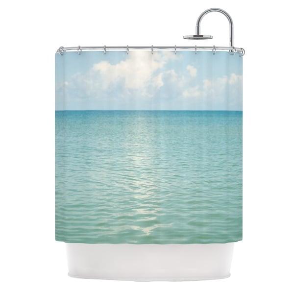 KESS InHouse Catherine McDonald 'Cloud Reflection' Shower Curtain (69x70)