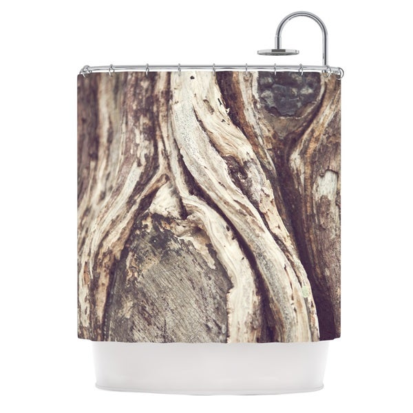 KESS InHouse Catherine McDonald 'Bark' Shower Curtain (69x70)