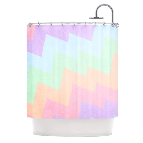 KESS InHouse Catherine McDonald 'Blaze' Shower Curtain (69x70)