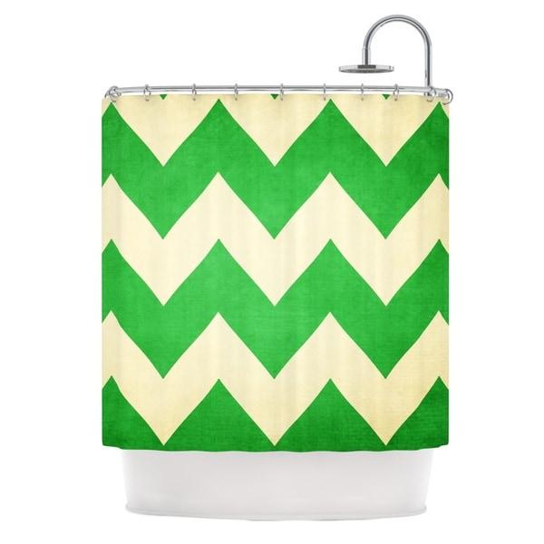 KESS InHouse Catherine McDonald 'Granny Smith' Shower Curtain (69x70)