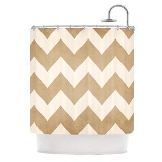 KESS InHouse Catherine McDonald 'Biscotti and Cream' Shower Curtain (69x70)