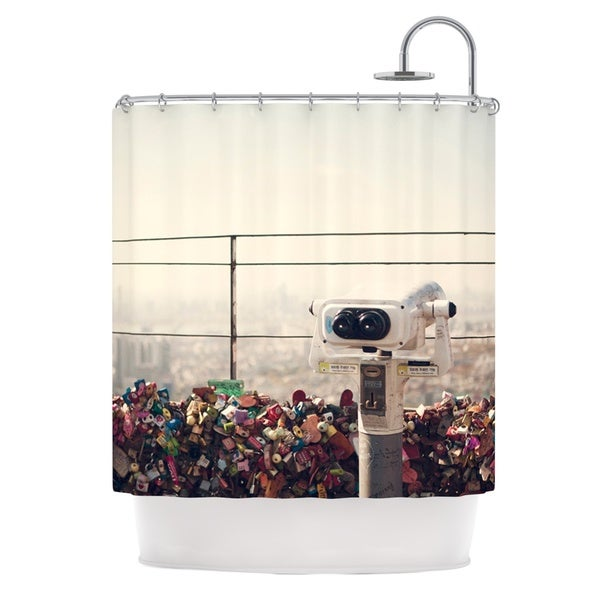 KESS InHouse Catherine McDonald 'The View Seoul' Shower Curtain (69x70)