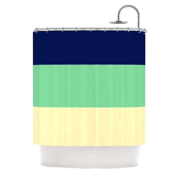 KESS InHouse Catherine McDonald 'South Pacific' Shower Curtain (69x70)