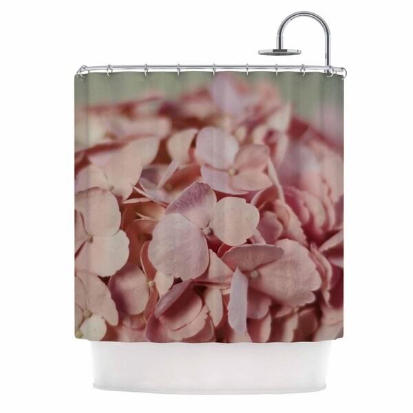 KESS InHouse Cristina Mitchell 'Pink Hydrangea' Shower Curtain (69x70)