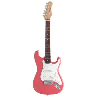 Stagg Standard S Pink 3/4 Size Electric Guitar