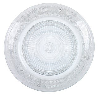 Lisa Vanderpump Beverly Hills Soho Clear Glass Dinner Plate (Pack of 4)