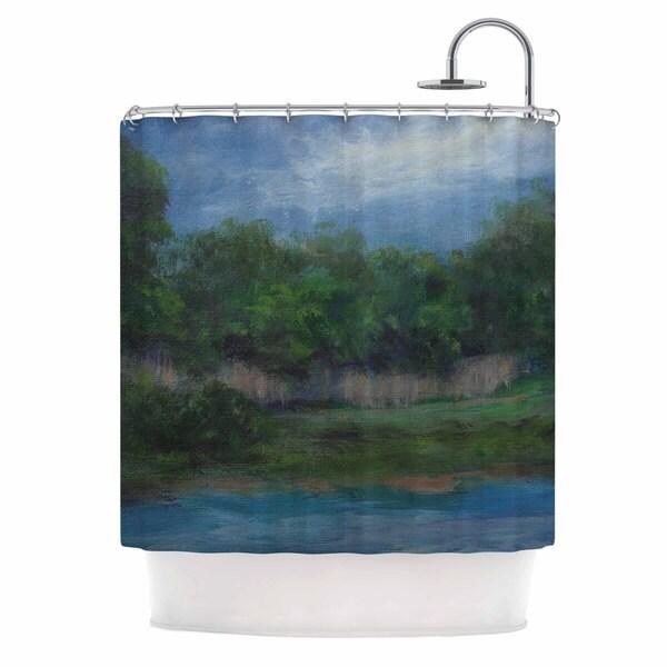 KESS InHouse Cyndi Steen 'A Cooler View' Shower Curtain (69x70)