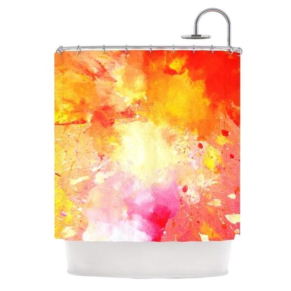 KESS InHouse CarolLynn Tice 'Splash' Shower Curtain (69x70)