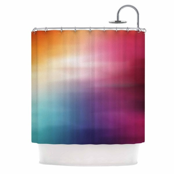 KESS InHouse Chelsea Victoria 'Color Rush' Shower Curtain (69x70)