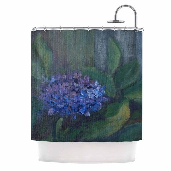 KESS InHouse Cyndi Steen 'Hydrangea' Shower Curtain (69x70)