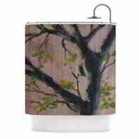 KESS InHouse Cyndi Steen 'Aussie Tree' Shower Curtain (69x70)