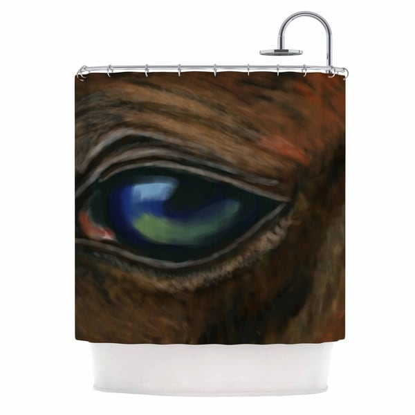 KESS InHouse Cyndi Steen 'Arabian Eye' Shower Curtain (69x70)